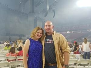 Jared attended Taylor Swift Reputation Stadium Tour on May 8th 2018 via VetTix