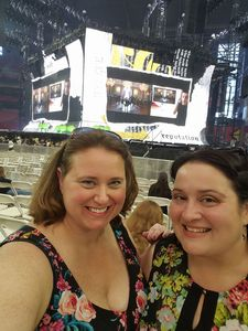 Thomas & Julie attended Taylor Swift Reputation Stadium Tour on May 8th 2018 via VetTix