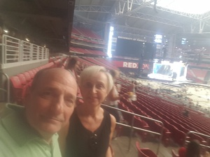 Gary attended Taylor Swift Reputation Stadium Tour on May 8th 2018 via VetTix