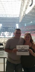 Matthew attended Taylor Swift Reputation Stadium Tour on May 8th 2018 via VetTix