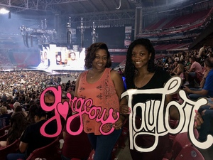 SFC Ammons attended Taylor Swift Reputation Stadium Tour on May 8th 2018 via VetTix