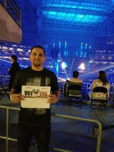 Rock attended Taylor Swift Reputation Stadium Tour on May 8th 2018 via VetTix