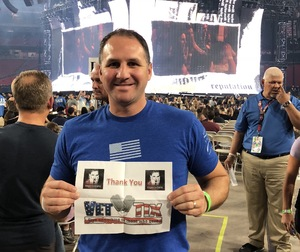 Bryan attended Taylor Swift Reputation Stadium Tour on May 8th 2018 via VetTix