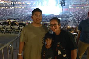 LUIS attended Taylor Swift Reputation Stadium Tour on May 8th 2018 via VetTix