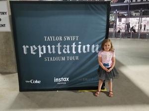 Deidra attended Taylor Swift Reputation Stadium Tour on May 8th 2018 via VetTix
