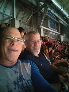 Thomas attended Taylor Swift Reputation Stadium Tour on May 8th 2018 via VetTix