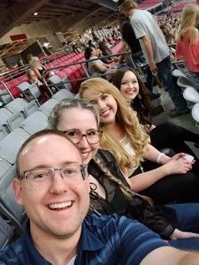 Justin attended Taylor Swift Reputation Stadium Tour on May 8th 2018 via VetTix
