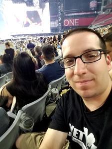 Shawn attended Taylor Swift Reputation Stadium Tour on May 8th 2018 via VetTix