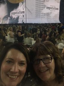 Cindy attended Taylor Swift Reputation Stadium Tour on May 8th 2018 via VetTix