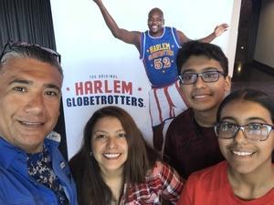 Army Veteran 25S attended Harlem Globetrotters - 2018 World Tour on Jul 14th 2018 via VetTix