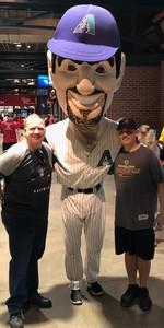 Anthony attended Arizona Diamondbacks vs. Washington Nationals - MLB on May 10th 2018 via VetTix