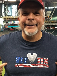 Jack attended Arizona Diamondbacks vs. Washington Nationals - MLB on May 10th 2018 via VetTix