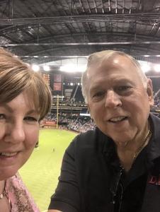 Thomas attended Arizona Diamondbacks vs. Washington Nationals - MLB on May 10th 2018 via VetTix