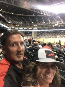 brett attended Arizona Diamondbacks vs. Washington Nationals - MLB on May 10th 2018 via VetTix