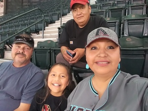 Jerry attended Arizona Diamondbacks vs. Washington Nationals - MLB on May 13th 2018 via VetTix