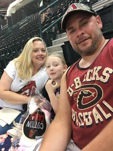 Danny attended Arizona Diamondbacks vs. Washington Nationals - MLB on May 13th 2018 via VetTix