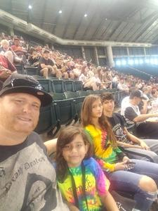 Darryl attended Arizona Diamondbacks vs. Washington Nationals - MLB on May 13th 2018 via VetTix