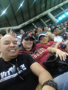 Edward attended Arizona Diamondbacks vs. Washington Nationals - MLB on May 13th 2018 via VetTix