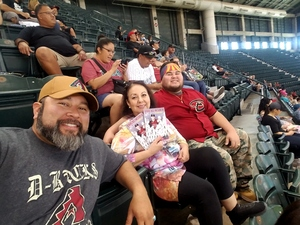 Joseph attended Arizona Diamondbacks vs. Washington Nationals - MLB on May 13th 2018 via VetTix