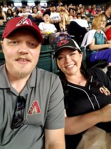 Jared attended Arizona Diamondbacks vs. Washington Nationals - MLB on May 13th 2018 via VetTix