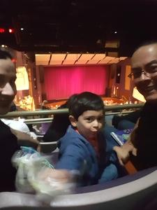 Cruz attended Peppa Pig Live Peppa Pig's Surprise! on May 12th 2018 via VetTix