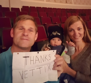 Prosper attended Brit Floyd Eclipse World Tour 2018 '45 Years of the Dark Side of the Moon' on May 10th 2018 via VetTix
