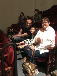 James attended Peppa Pig Live! on May 17th 2018 via VetTix