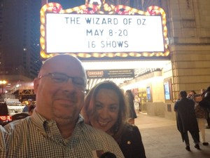 Ken attended The Wizard of Oz - Opening Night on May 8th 2018 via VetTix