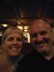 Chris attended The Wizard of Oz - Opening Night on May 8th 2018 via VetTix
