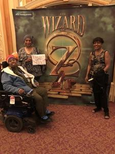 Clear attended The Wizard of Oz - Opening Night on May 8th 2018 via VetTix