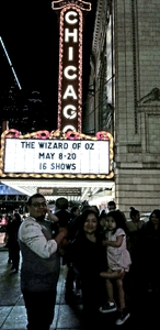 Pablo attended The Wizard of Oz - Opening Night on May 8th 2018 via VetTix