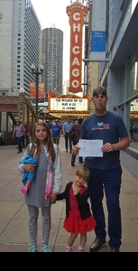 Prosper attended The Wizard of Oz - Opening Night on May 8th 2018 via VetTix