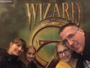 Joseph attended The Wizard of Oz on May 9th 2018 via VetTix