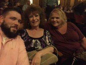 Jonathan attended The Wizard of Oz on May 9th 2018 via VetTix