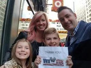 Scott attended The Wizard of Oz on May 9th 2018 via VetTix