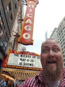 Steven attended The Wizard of Oz on May 9th 2018 via VetTix