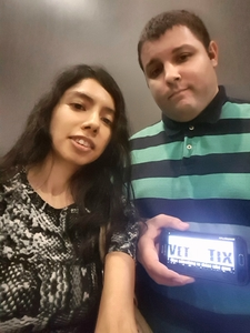 Frank & Eve attended Maks, Val and Peta Live on Tour: Confidential on May 4th 2018 via VetTix