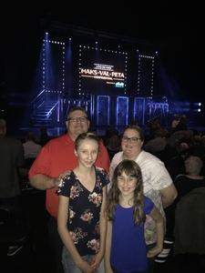 Christopher attended Maks, Val and Peta Live on Tour: Confidential on May 4th 2018 via VetTix