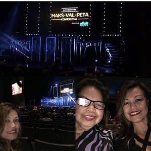 Abilene attended Maks, Val and Peta Live on Tour: Confidential on May 4th 2018 via VetTix