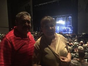 Gonzalo attended Maks, Val and Peta Live on Tour: Confidential on May 4th 2018 via VetTix