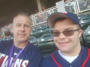 Eric attended Minnesota Twins vs. Los Angeles Angels - MLB on Jun 8th 2018 via VetTix