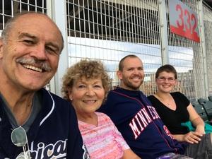richard attended Minnesota Twins vs. Los Angeles Angels - MLB on Jun 8th 2018 via VetTix