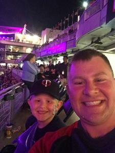 Chris attended Minnesota Twins vs. Los Angeles Angels - MLB on Jun 8th 2018 via VetTix