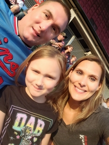 Laena attended Minnesota Twins vs. Los Angeles Angels - MLB on Jun 8th 2018 via VetTix