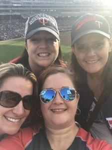 Linsey attended Minnesota Twins vs. Los Angeles Angels - MLB on Jun 8th 2018 via VetTix