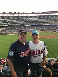 Scott attended Minnesota Twins vs. Los Angeles Angels - MLB on Jun 8th 2018 via VetTix