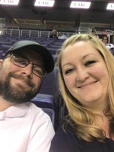 Thomas attended Arizona Rattlers vs. Iowa Barnstormers - IFL on May 20th 2018 via VetTix