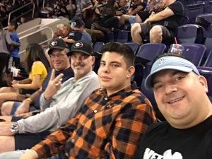 Kaz attended Arizona Rattlers vs. Iowa Barnstormers - IFL on May 20th 2018 via VetTix