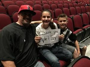 Jason attended David Blaine on May 7th 2018 via VetTix