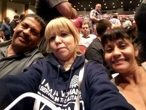 adelina attended David Blaine on May 7th 2018 via VetTix